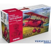 Fokker Dr.I Triplane Red Baron -QS002