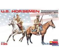 U.S. HORSEMEN. NORMANDY 1944 -35151