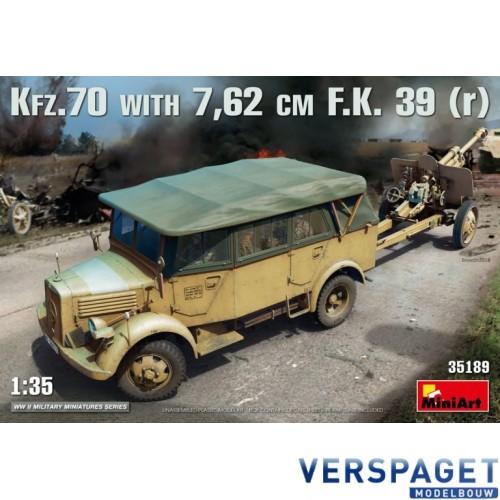 Kfz.70 & 7,62 cm F.K. 39  -35189