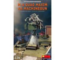 M-4 QUAD MAXIM AA MACHINEGUN -35211