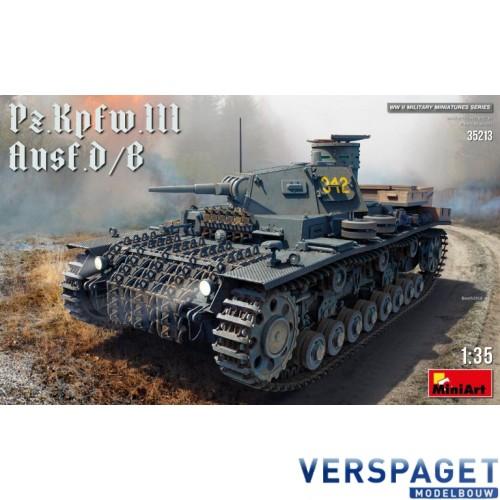 Pz.Kpfw.III Ausf. D/B -35213