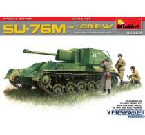 SU-76M w/Crew SPECIAL EDITION -35262