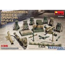 PANZERSCHRECK RPzB.54 & OFENROHR RPzB.43 SET -35263