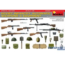 SOVIET INFANTRY AUTOMATIC WEAPONS & EQUIPMENT. SPECIAL EDITION -35268