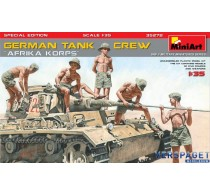 GERMAN TANK CREW Afrika Korps -35278