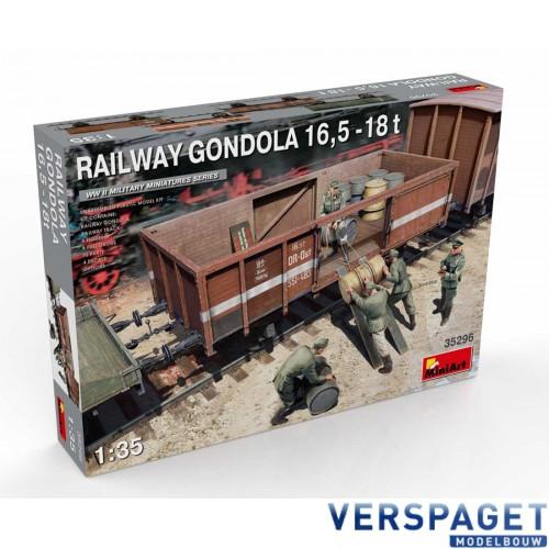 RAILWAY GONDOLA 16,5-18t -35296