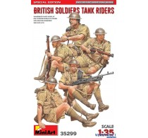 BRITISH SOLDIERS - TANK RIDERS S.E. 35299