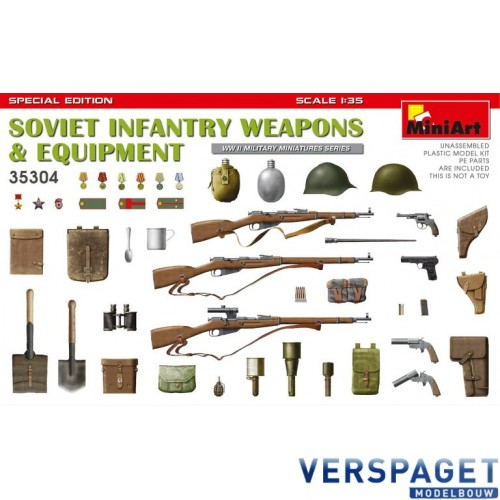 SOVIET INFANTRY WEAPONS & EQUIPMENT. SPECIAL EDITION -35304