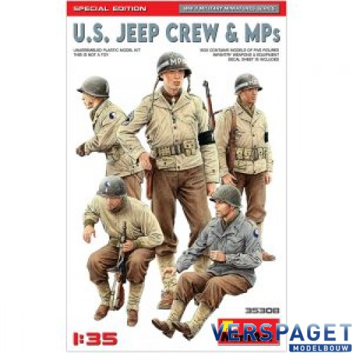 U.S. JEEP CREW & MPs. SPECIAL EDITION -35308