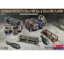 GERMAN ROCKETS 28cm WK Spr & 32cm WK FLAMM -35316