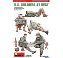 U.S. Soldiers at rest - Special Edition -35318