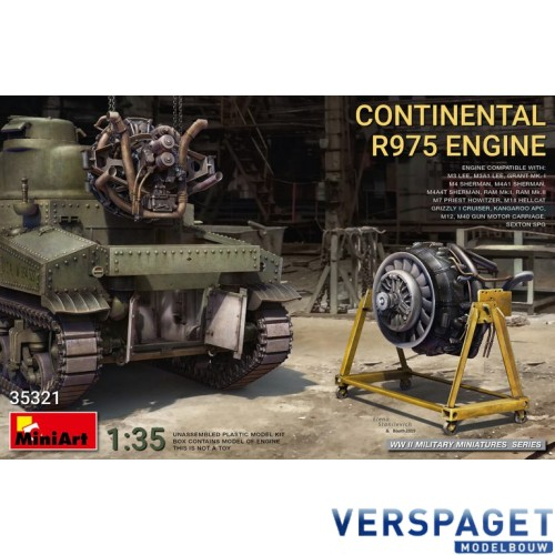 CONTINENTAL R975 ENGINE -35321