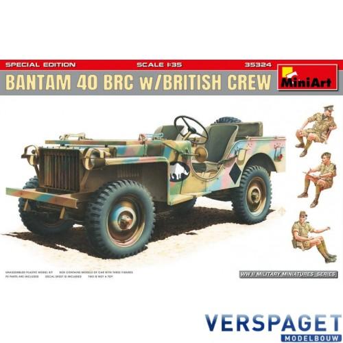 BANTAM 40 BRC w/BRITISH CREW. SPECIAL EDITION -35324