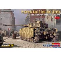 Pz.Kpfw.IV Ausf. G Last/Ausf. H Early. NIBELUNGENWERK PROD. MAY-JUNE 1943 INTERIOR KIT -35333