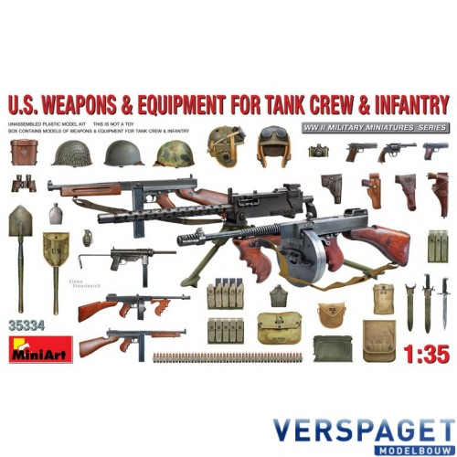U.S. WEAPONS & EQUIPMENT FOR TANK CREW & INFANTRY -353234