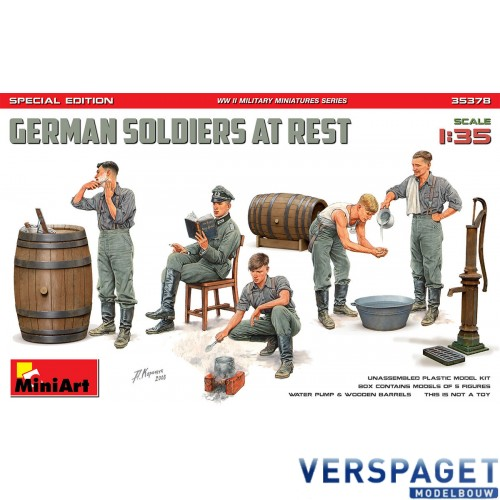 German Soldiers At Rest Special Edition -35378
