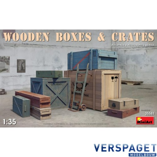 WOODEN BOXES & CRATES -35581