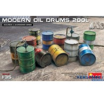 MODERN OIL DRUMS 200L -35615