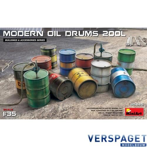 MODERN OIL DRUMS 200L -35615