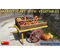 MARKET CART WITH VEGETABLES -35623