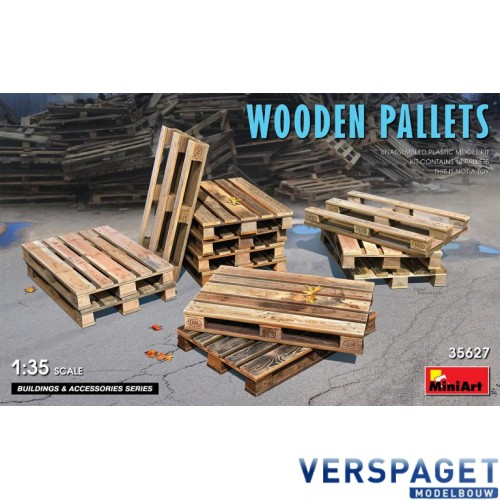 WOODEN PALLETS -35627