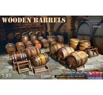 Wooden Barrels -35632