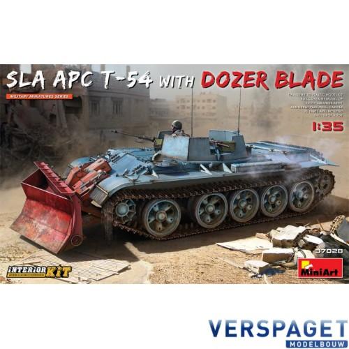 SLA APC T-54 w/DOZER BLADE. INTERIOR KIT -37028