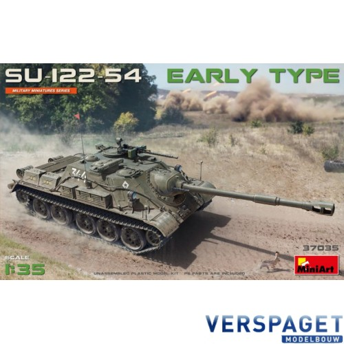 SU-122-54 EARLY TYPE -37035