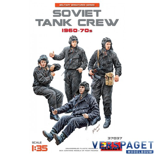 SOVIET TANK CREW 1960-70s -37037