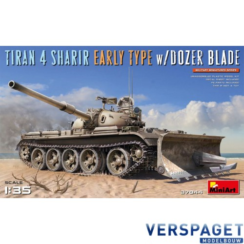 TIRAN 4 SHARIR EARLY TYPE w/DOZER BLADE -37044