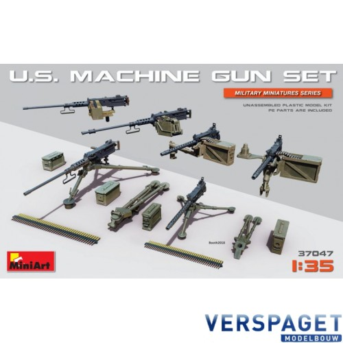 U.S. MACHINE GUN SET -37047