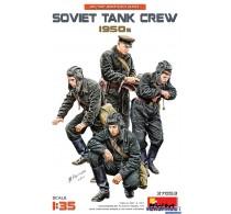 SOVIET TANK CREW 1950s -37053