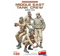 MIDDLE EAST TANK CREW 1960-70s -37081