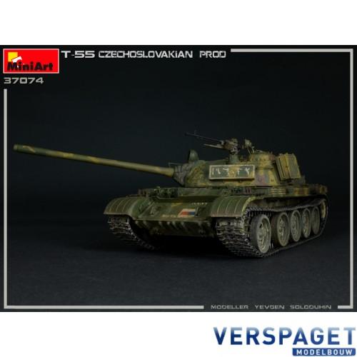 T-55 CZECHOSLOVAK PRODUCTION -37074