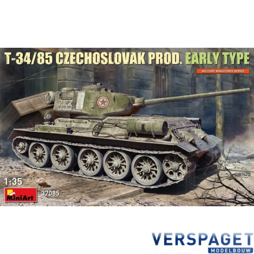 T-34/85 CZECHOSLOVAK PROD. EARLY TYPE -37085