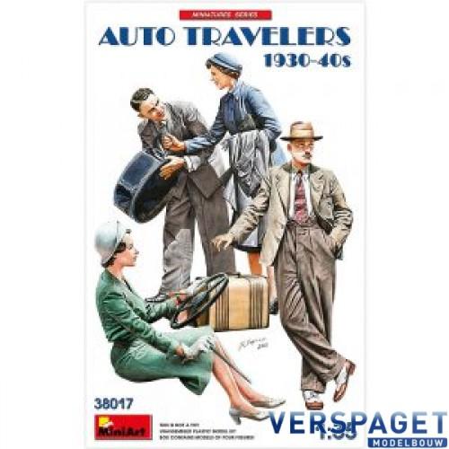 AUTO TRAVELERS 1930-40S -38017