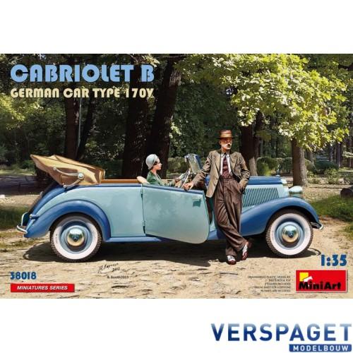 CABRIOLET B GERMAN CAR TYPE 170V -38018