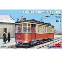 SOVIET TRAM X-SERIES. EARLY TYPE -38020