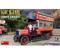LGOC B-TYPE LONDON OMNIBUS -38021