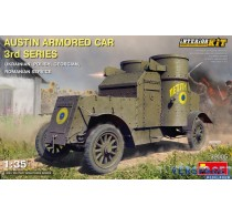 AUSTIN ARMORED CAR 3rd SERIES: UKRAINIAN, POLISH, GEORGIAN, ROMANIAN SERVICE. INTERIOR KIT -39005