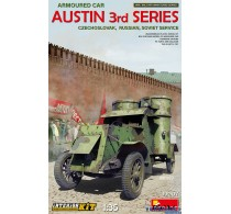 Austin Armoured Car 3rd Series: Czechoslovak, Russian, Soviet Service with Interior Kit -39007