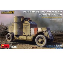AUSTIN ARMOURED CAR 1918 PATTERN. BRITISH SERVICE. WESTERN FRONT. INTERIOR KIT -39009