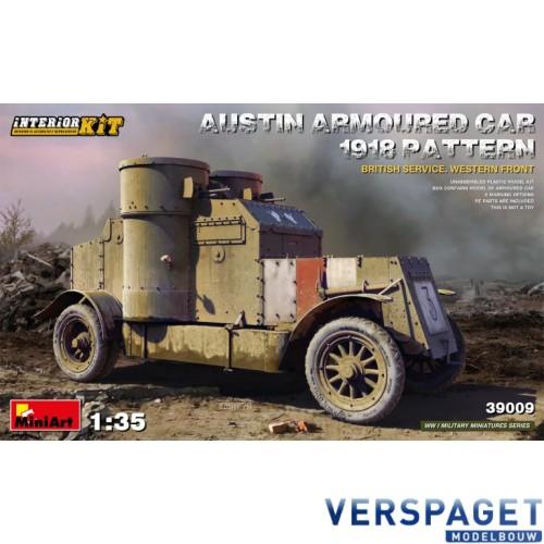 AUSTIN ARMOURED CAR 1918 PATTERN. BRITISH SERVICE. WESTERN FRONT. INTERIOR KIT -39009