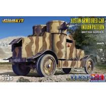 Austin Armoured Car Indian Pattern. British Service. Interior -39021