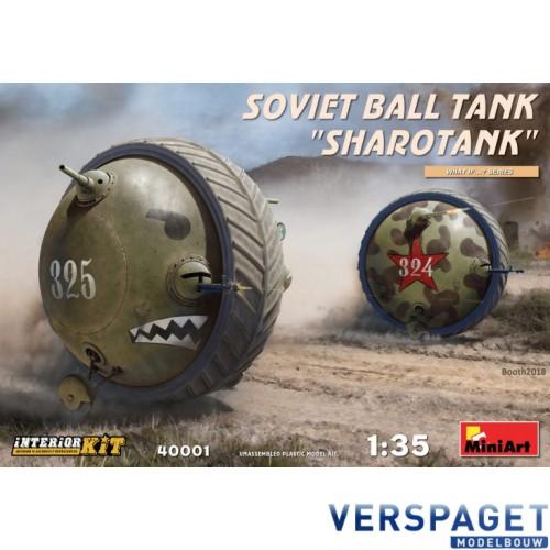 """SOVIET BALL TANK """"Sharotank"""" INTERIOR KIT -40001"""
