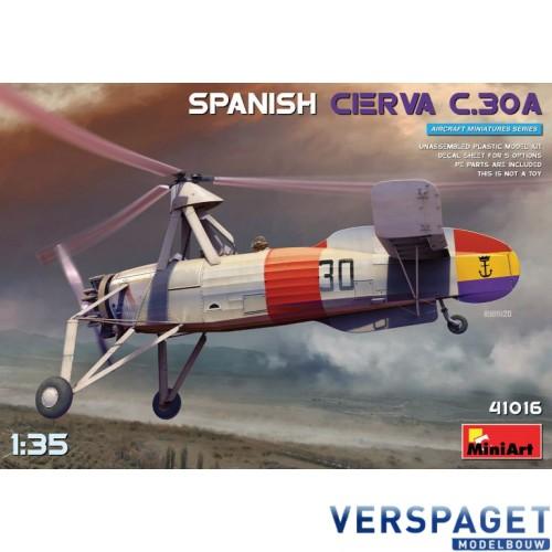 SPANISH CIERVA C.30A -41016