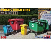 PLASTIC TRASH CAN-35617