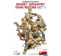 SOVIET INFANTRY TANK RIDERS SET 1 -35309