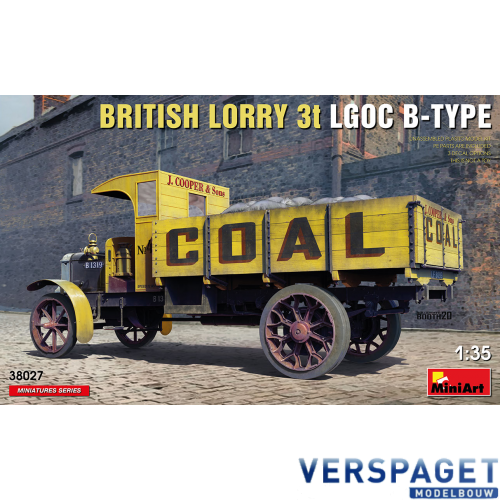 BRITISH LORRY 3T LGOC B-TYPE -38027