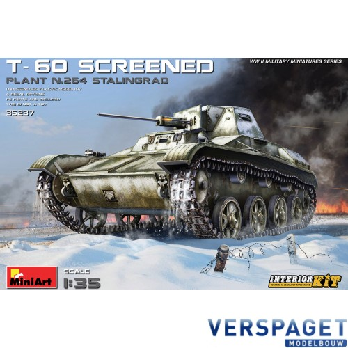 T-60 SCREENED (PLANT NO.264 STALINGRAD) INTERIOR KIT -35237